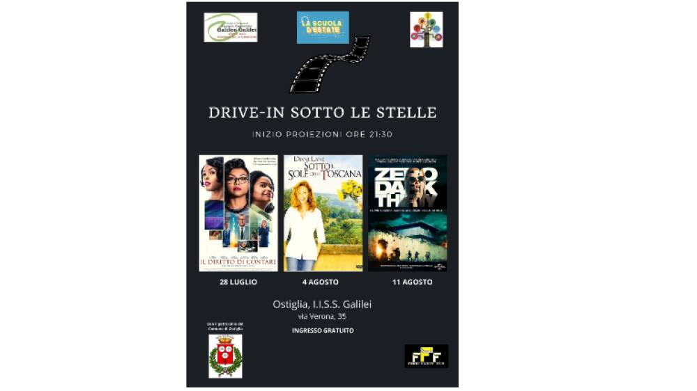 DRIVE-IN SOTTO LE STELLE