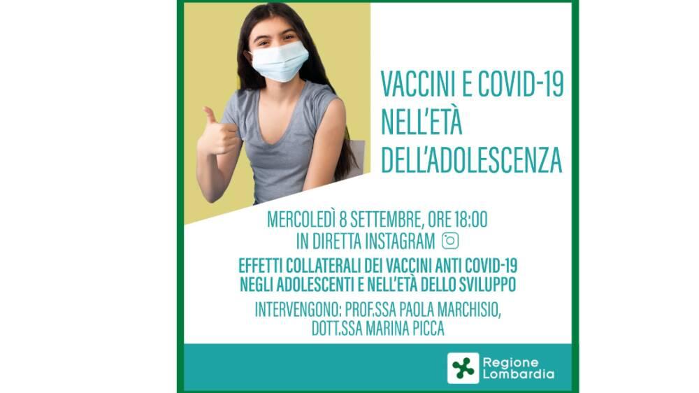 Vaccinazioni anti Covid-19 negli adolescenti