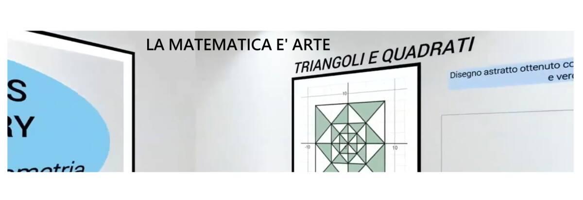 la matematica è arte