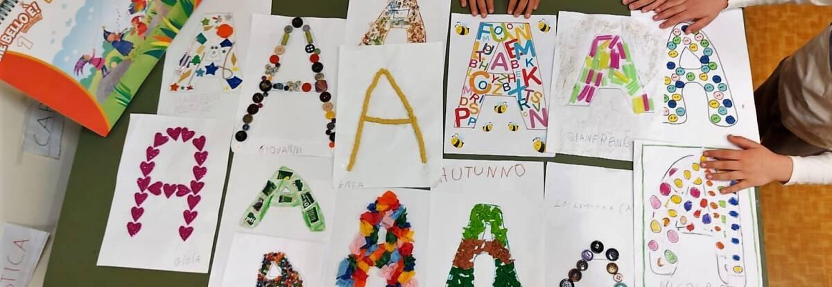 Con l'arte impariamo l'alfabeto