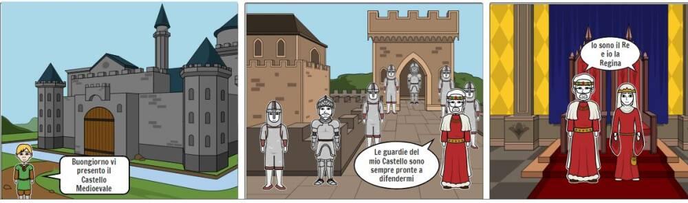 Storyboard-Castello Medievale