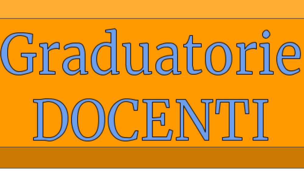 graduatorie docenti