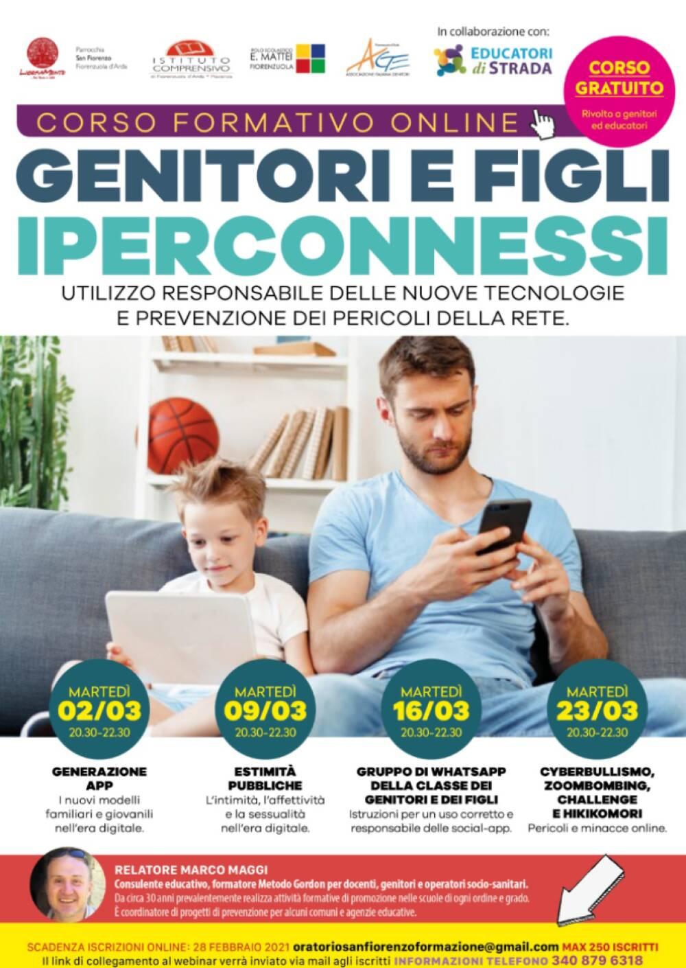 Gen e Figli Iperconnessi Locandina