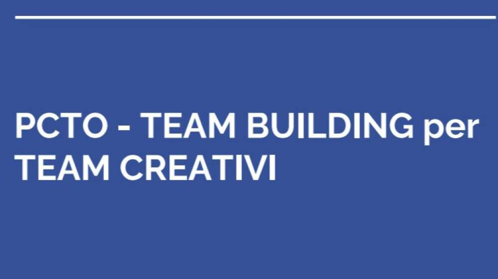 PCTO Team Building