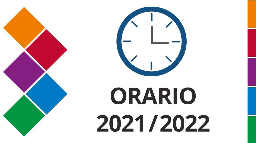 Orario 2021-22