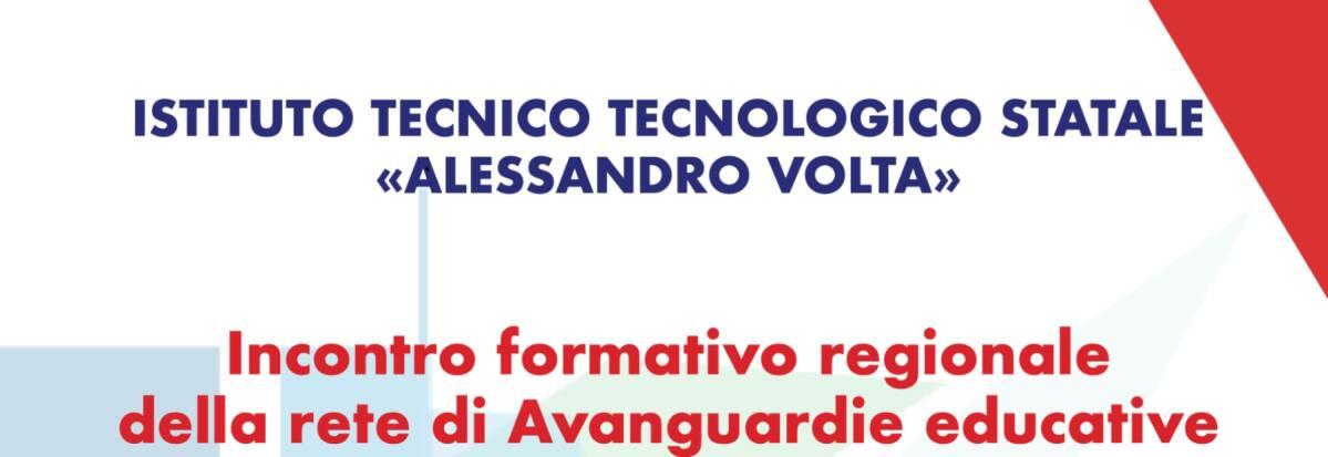 INCONTRO FORMATIVO REGIONALE AVANGUARDIE EDUCATIVE
