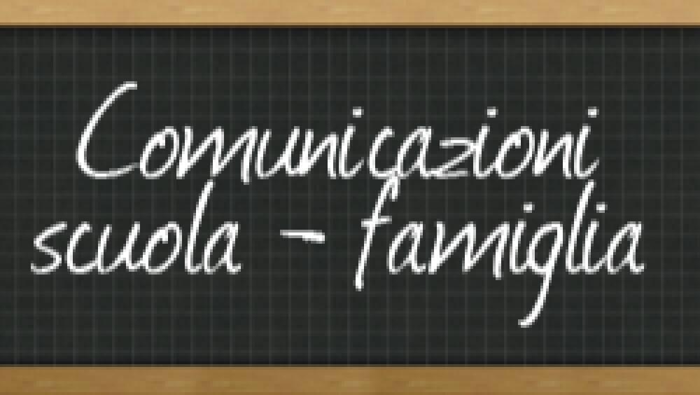 Immagine di Comunicazioni Scuola - Famiglia
