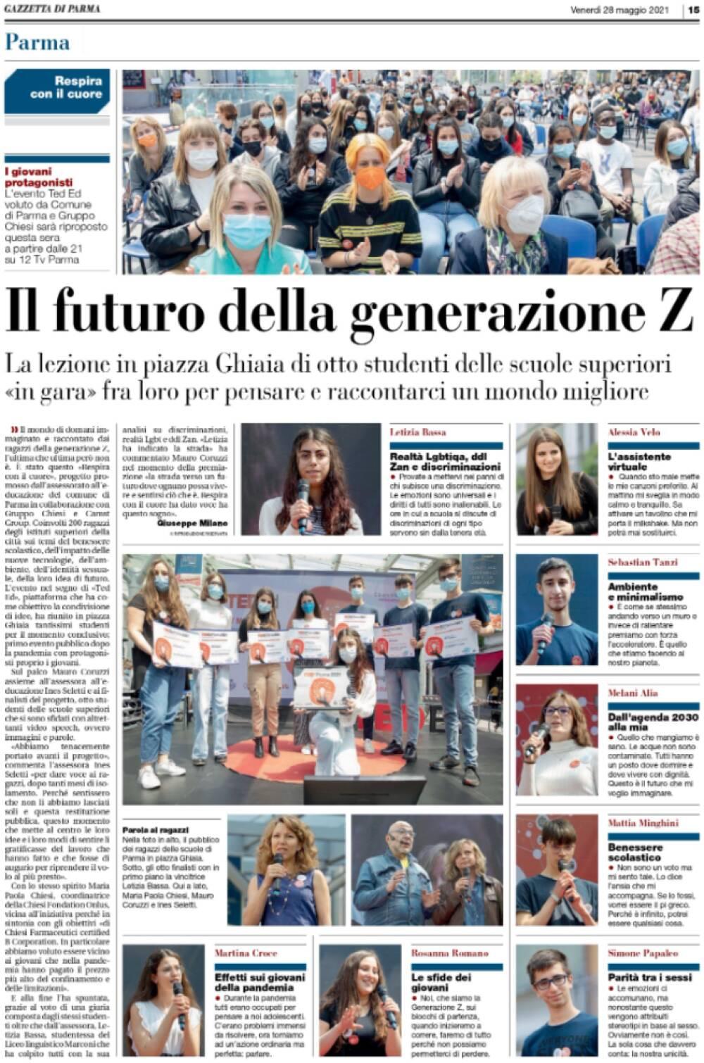 Gazzetta TEDed2021