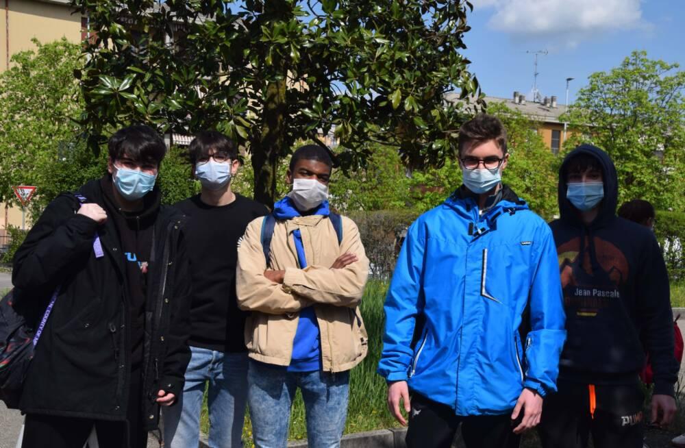Studenti classi 3° liceo
