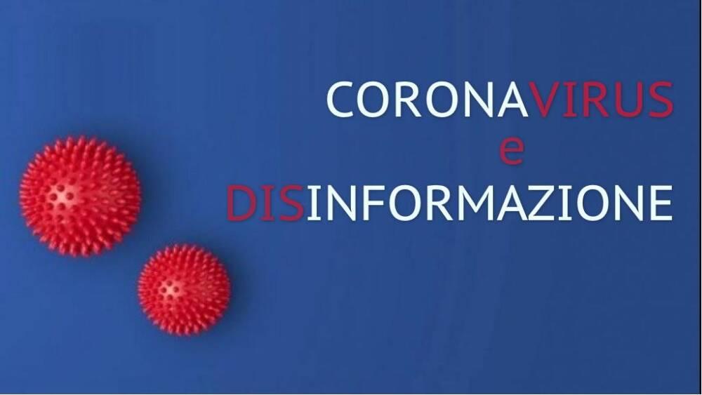 Coronavirus e disinformazione