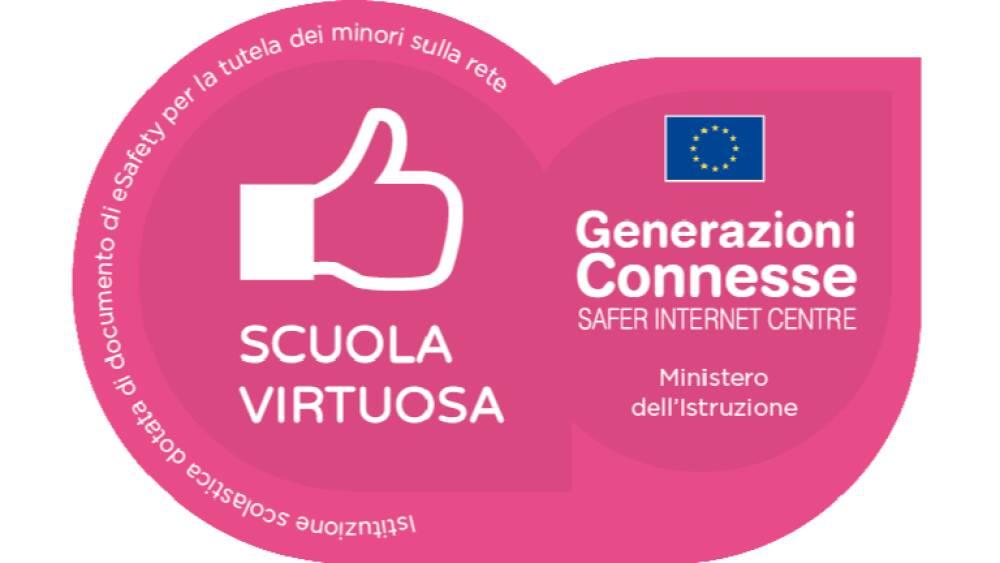 Logo Scuola Virtuosa - Generazioni Connesse