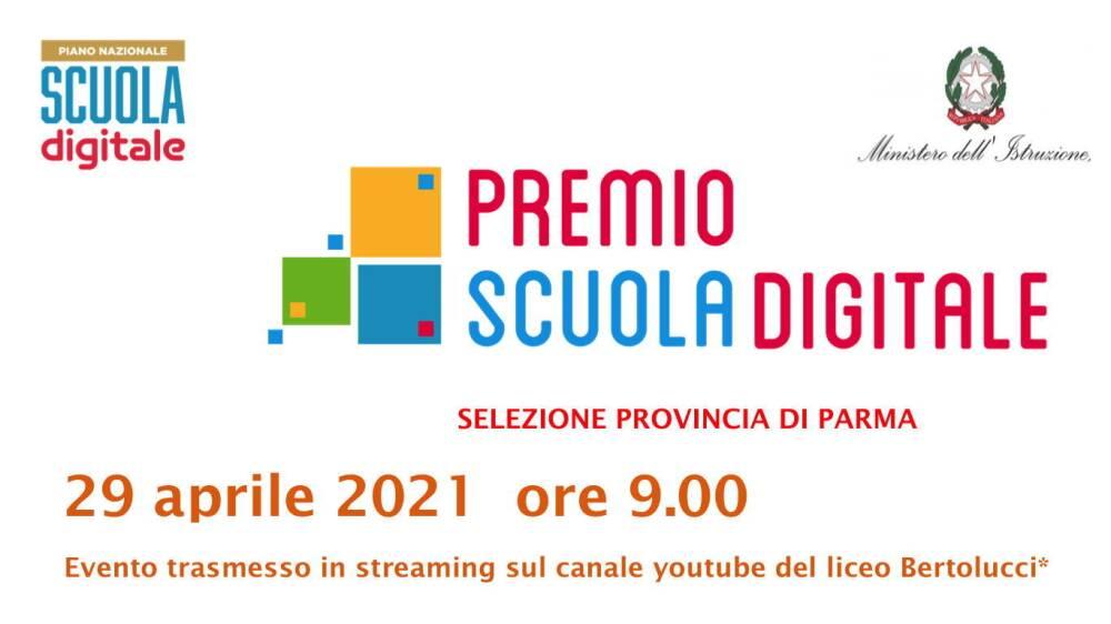 Premio Scuola Digitale 2021 - Fase provinciale