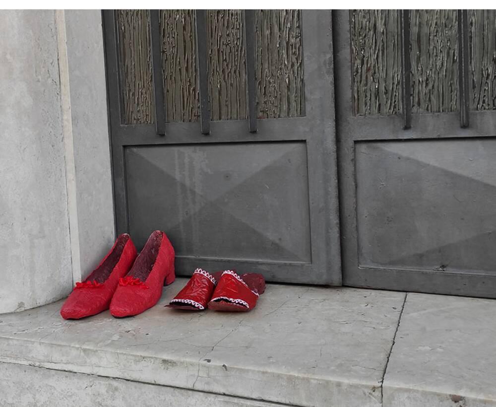 scarpette rosse icona