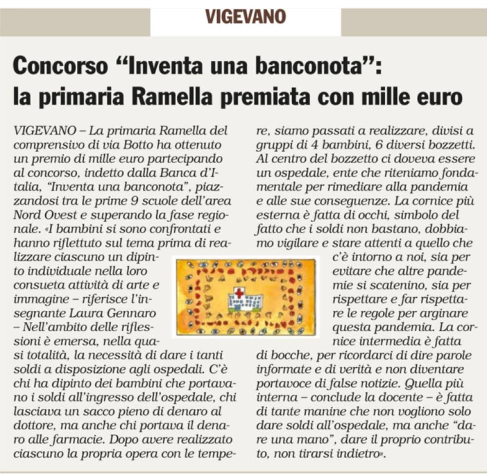 INFORMATORE 23-09-2021 INVENTA BANCONOTA RAMELLA