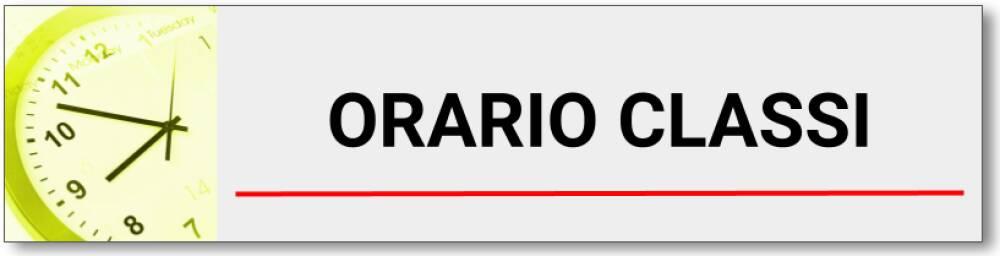 ORARIO CLASSI WIDGET