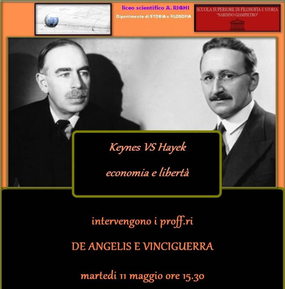 Conferenza di filosofia Keynes vs Hayek