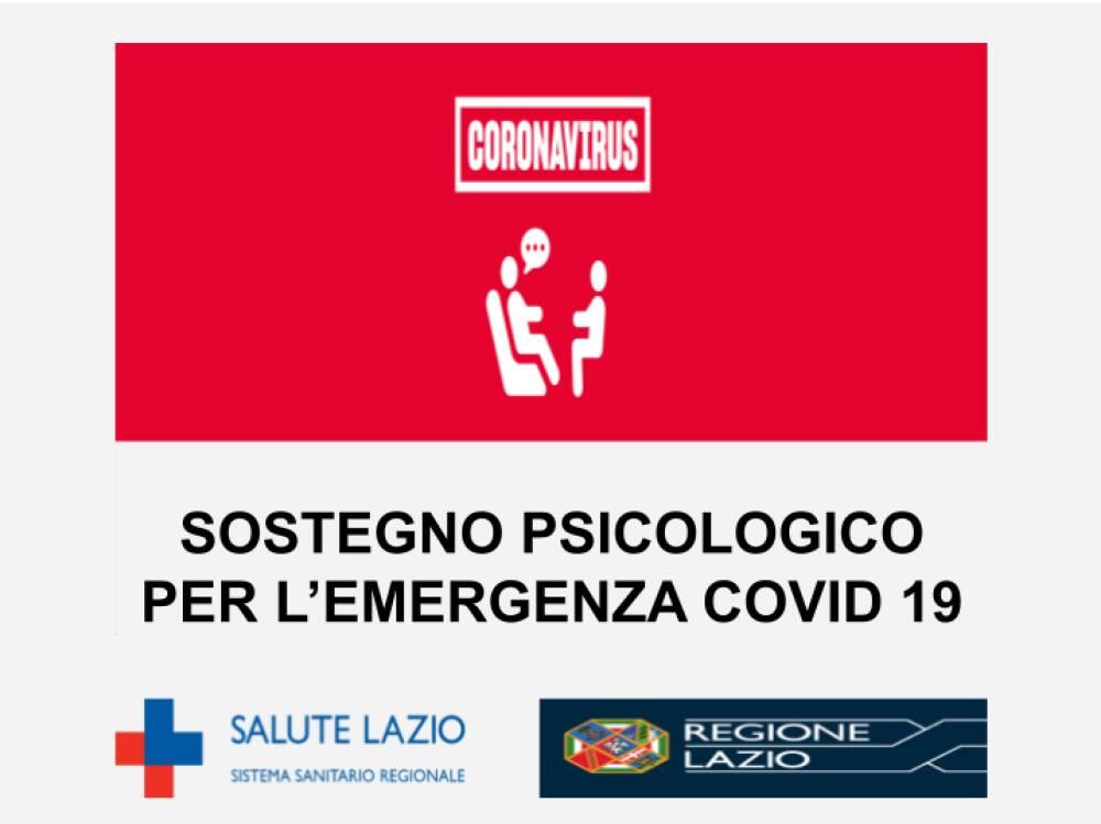 SOSTEGNO PSICOLOGICO COVID 19