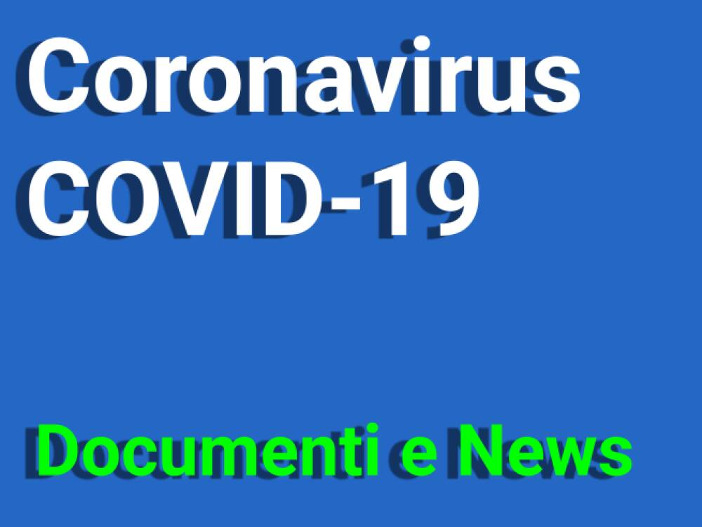 Coronavirus Documenti e News
