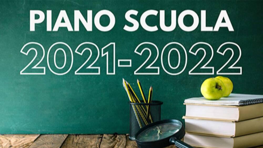 PIANO SCUOLA a.s. 2021-22
