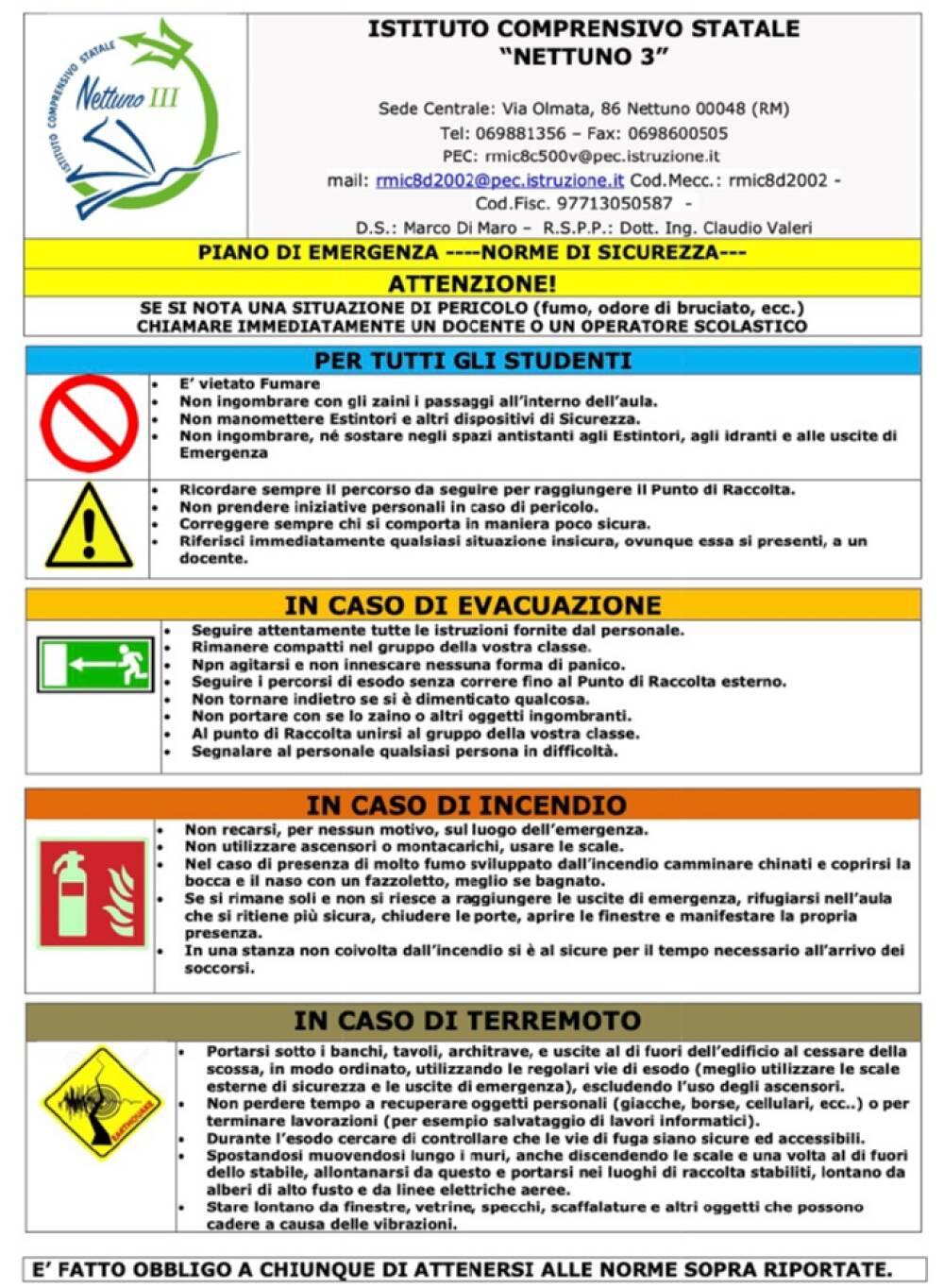 Piano sicurezza 1