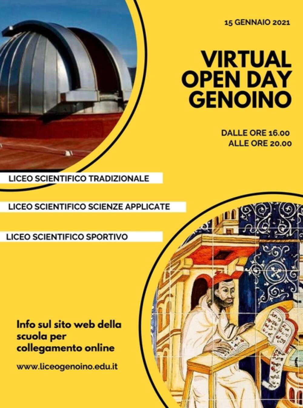 Poster Virtual Open Day 2021
