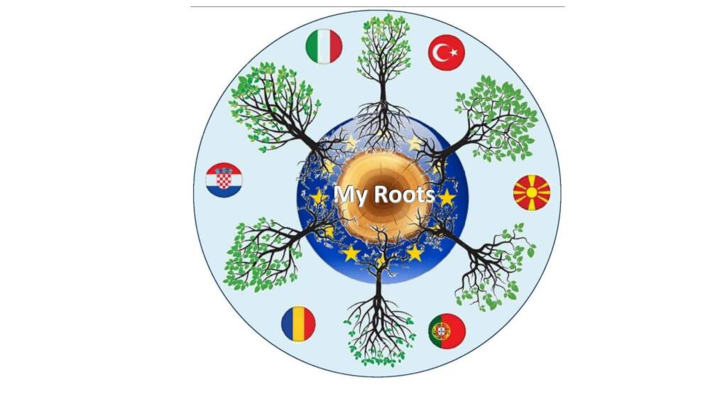 Vincita Logo My Roots-Programma Erasmus + A.S. 202