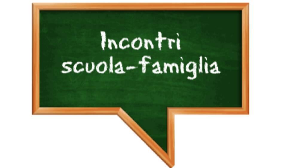 Incontri scuola -famiglia