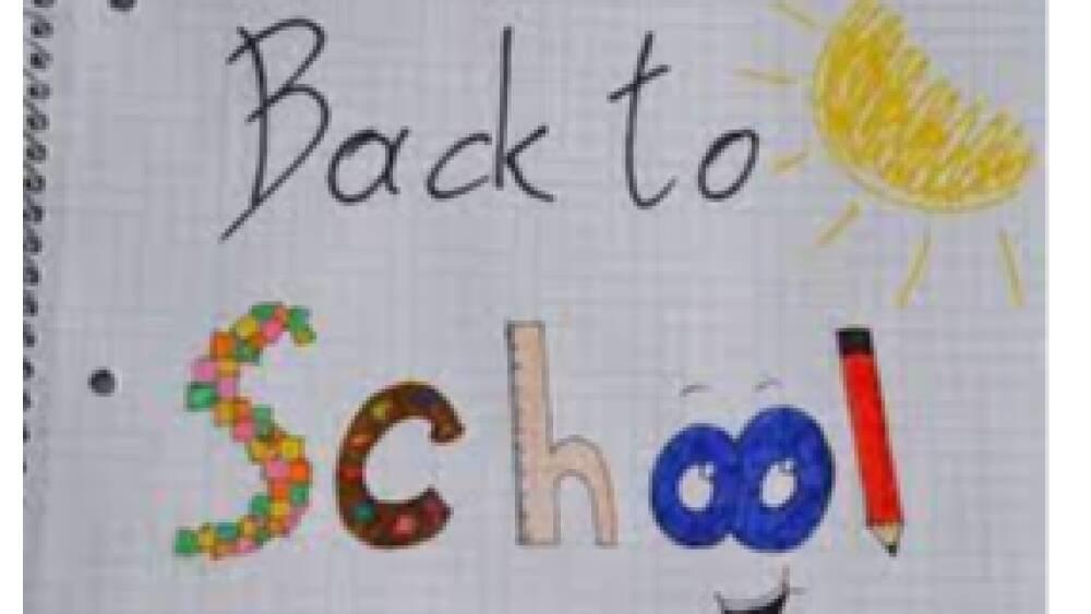 back to school infanzia primaria