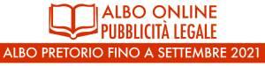 ALBO PRETORIO FINO A SETTEMBRE 2021