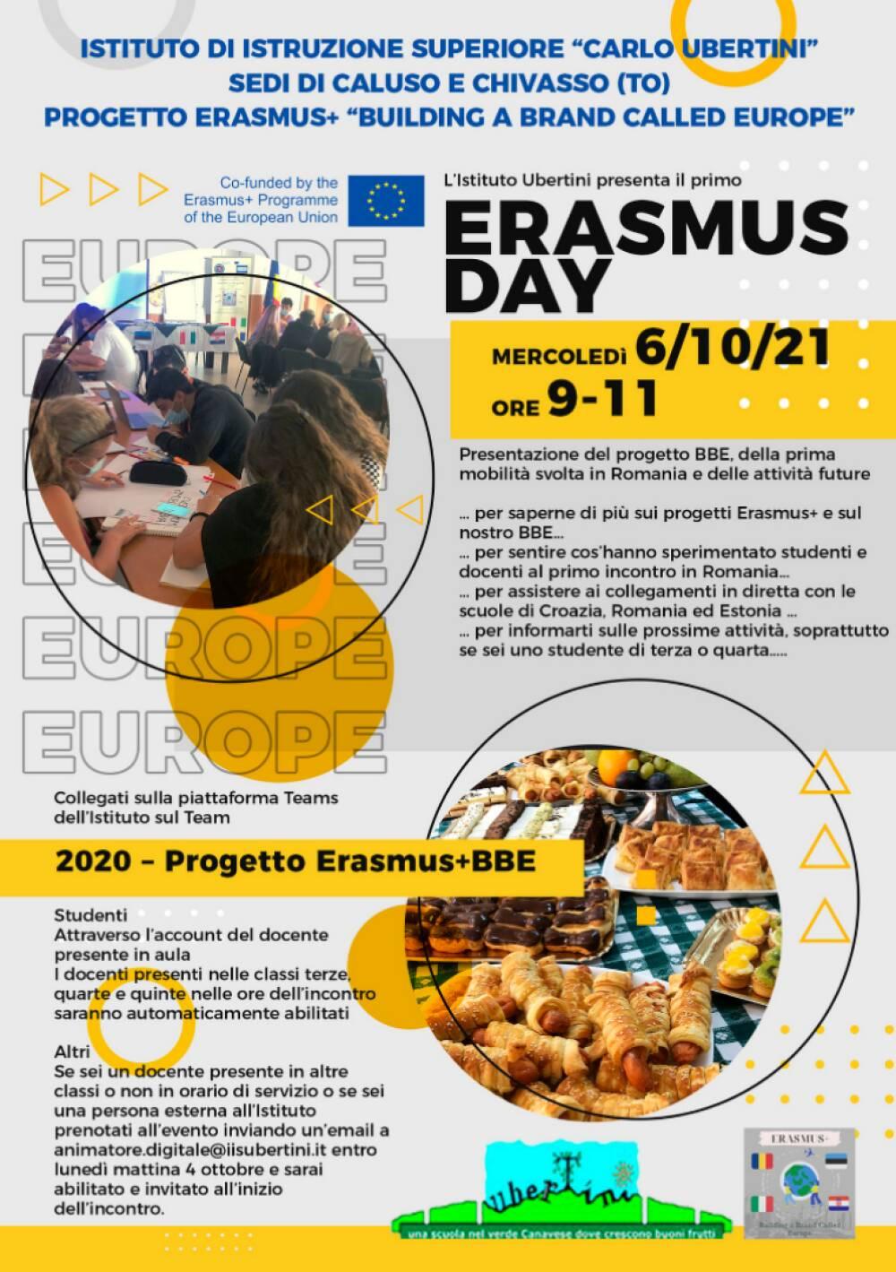 Erasmus day locandina