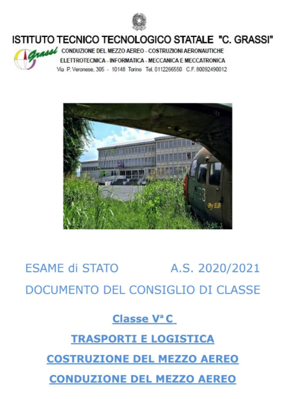 Documento 15 Maggio 5C