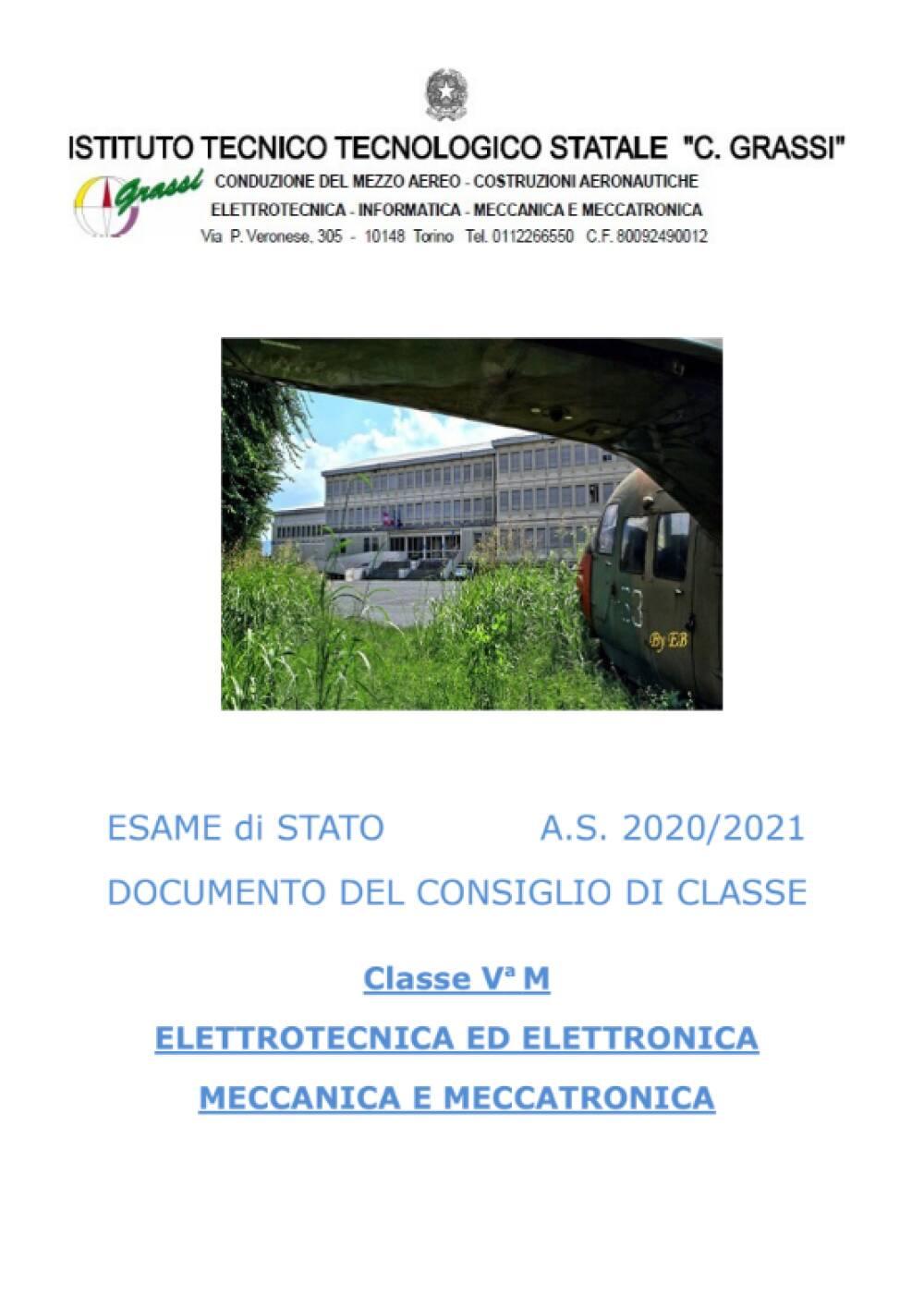 Documento 15 Maggio 5M
