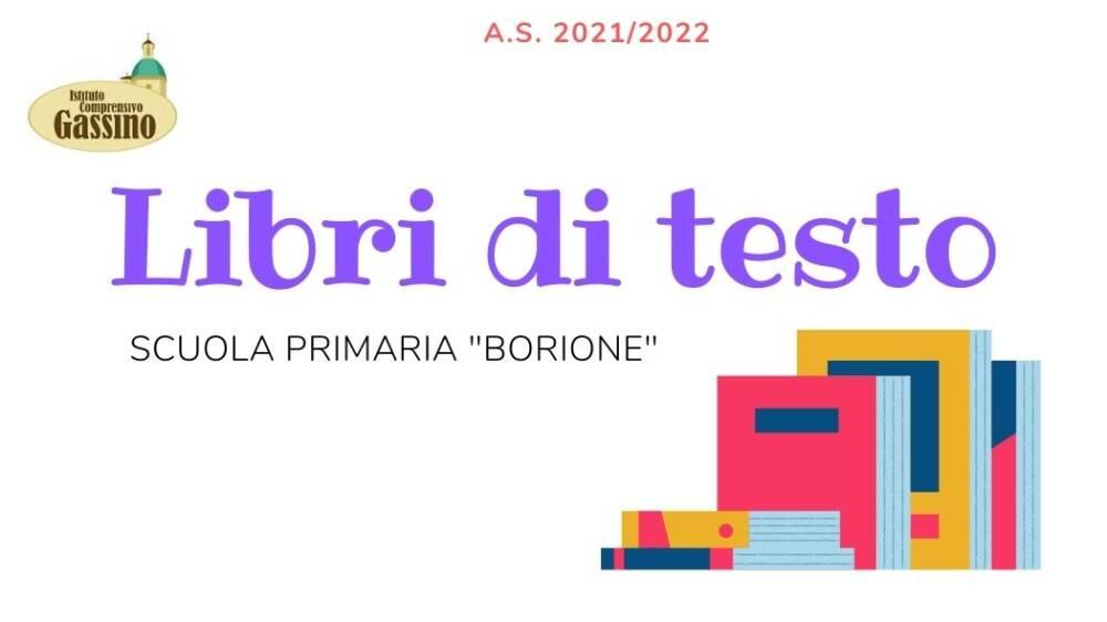 Libri di testo Borione - 2021/22