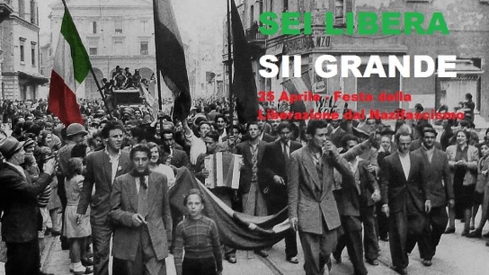 25 Aprile Liberazione d'Italia