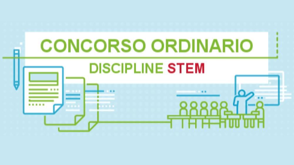 concorso ordinario STEM