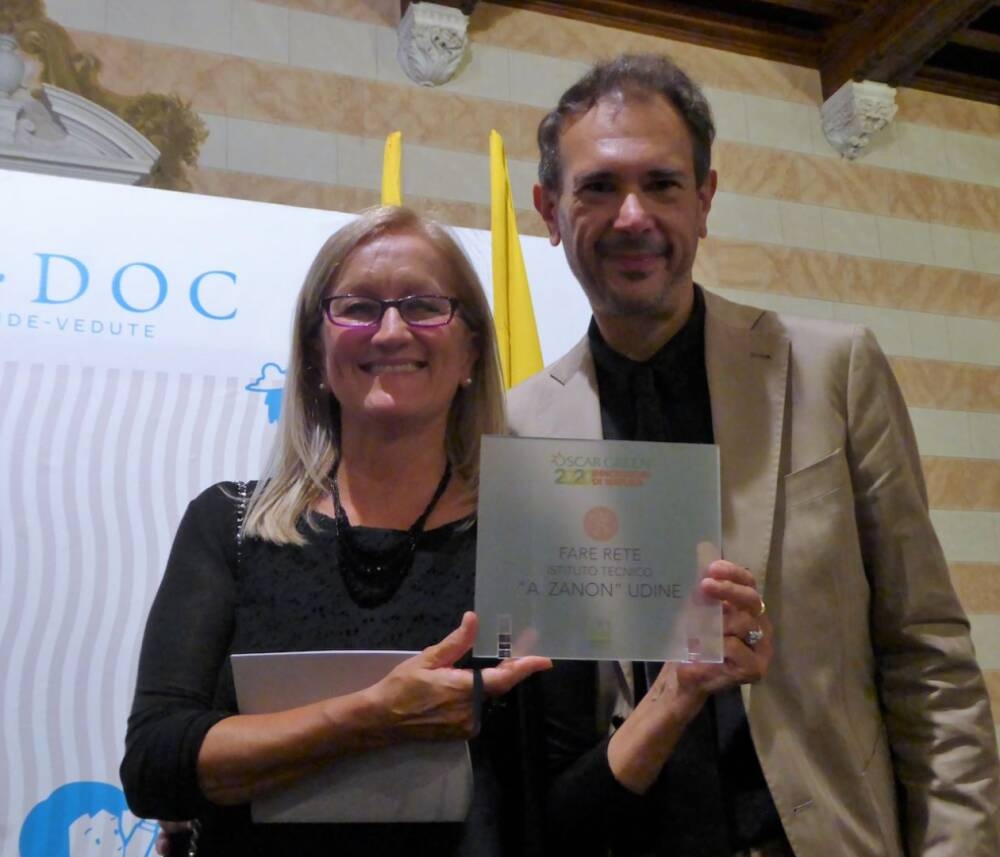 prof. Luca Roncadin e prof.ssa Franca Rossi
