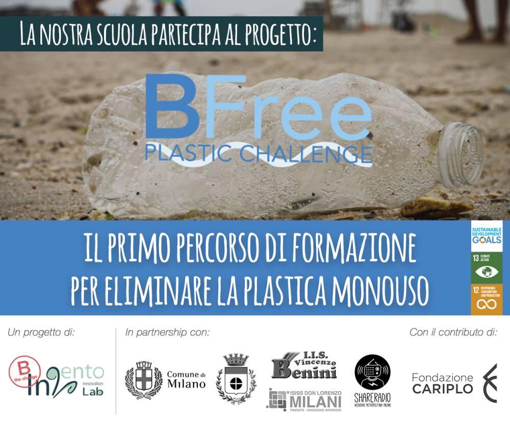 BFree Plastic Challenge locandina