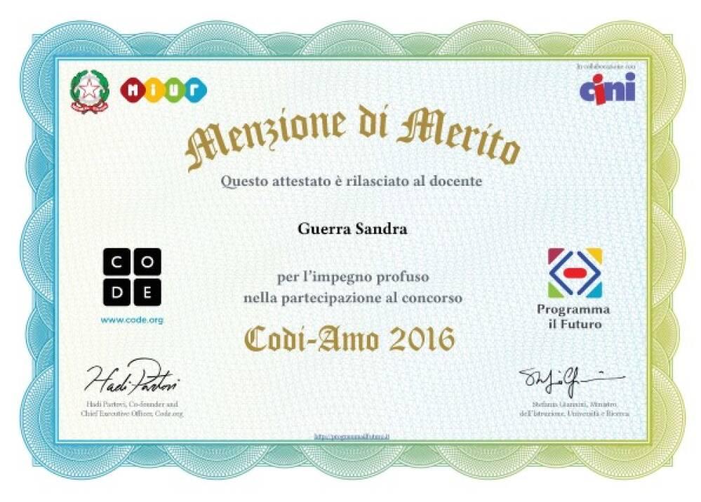 Attestato docente codi-amo 2016