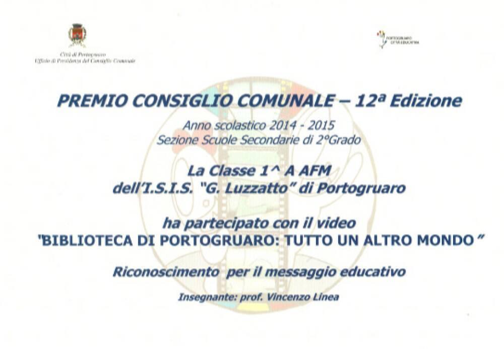 Premio Consiglio Comunale di Portogruaro - 1a