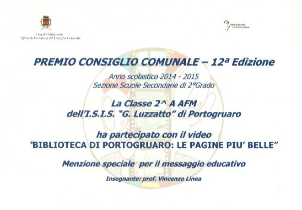 Premio Consiglio Comunale di Portogruaro - 2a