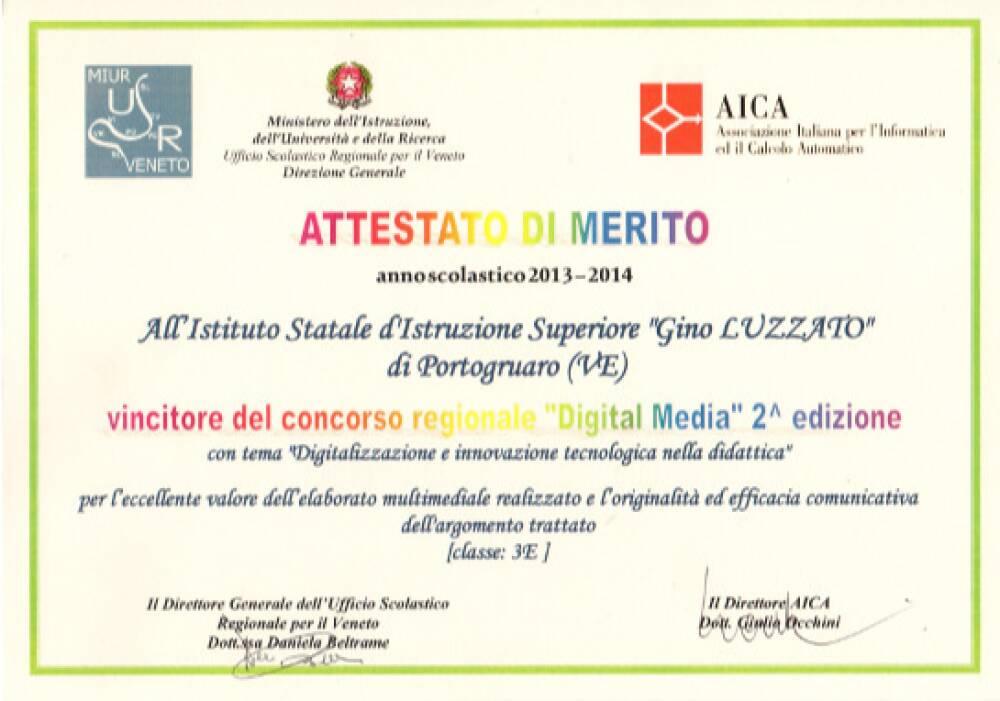 Concorso Digital media 2014