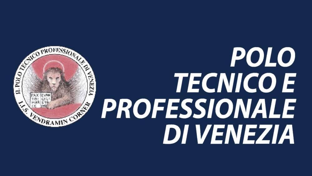 Logo Polo Tecnico Professionale di Venezia blu