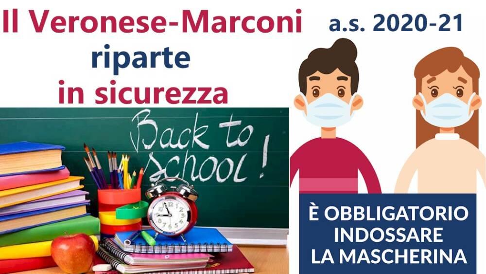 Veronese Marconi riparte in sicurezza