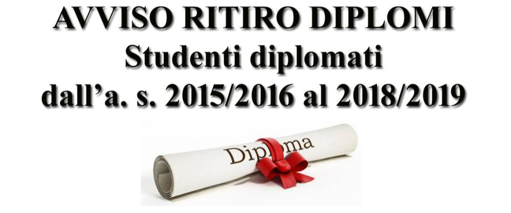 ritiro diplomi 2015-16-2018-19