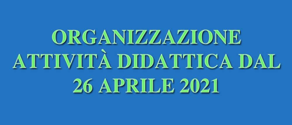 organizzazione attività didattica