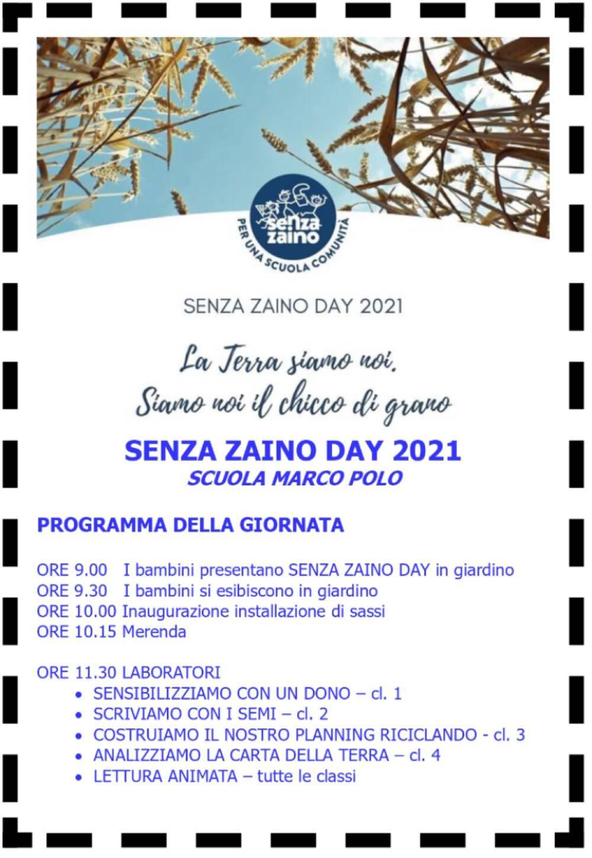 Programma Senza zaino day