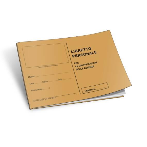 Libretto personale Classico c/nota modello C