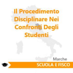 Il Procedimento Disciplinare Nei Confronti Degli Studenti