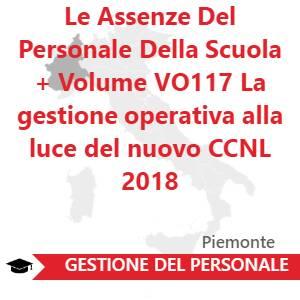 Le Assenze Del Personale Della Scuola + Volume VO117