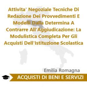 Attivita' Negoziale Tecniche Di Redazione Dei Provvedimenti E Modelli